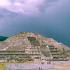 Mexico City - Teotihuacan Pyramid - 1982