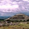 Mayan Teotihuacan pyramid outside of Mexico City - 1982