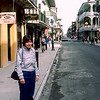 New Orleans, Royal Street - Mercedes in the French Quarter - 1984