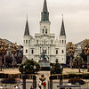 New Orleans - St. Louis Cathedral on Jackson Square - 1984