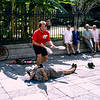 New Orleans - Street juggler - 1997