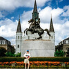 New Orleans, Jackson Square - Andrew Jackson statue - 1997