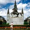 New Orleans, Jackson Square - Andrew Jackson statue - 1997