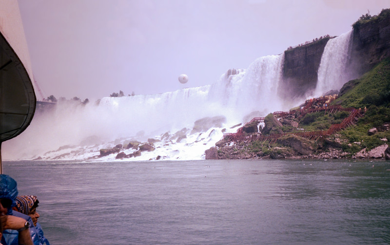 American Falls - large waterfall center-left