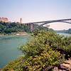 Lewiston–Queenston Bridge (1962) over the Niagara River - June 2002