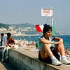 Nice - Beach & the Promenade des Anglais - 1985