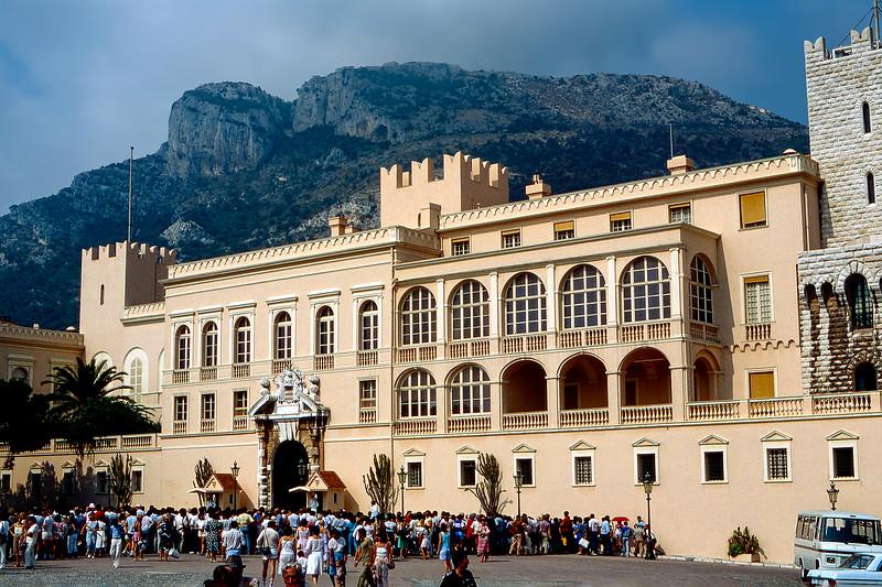 Monaco - Grimaldi Palace - 1985