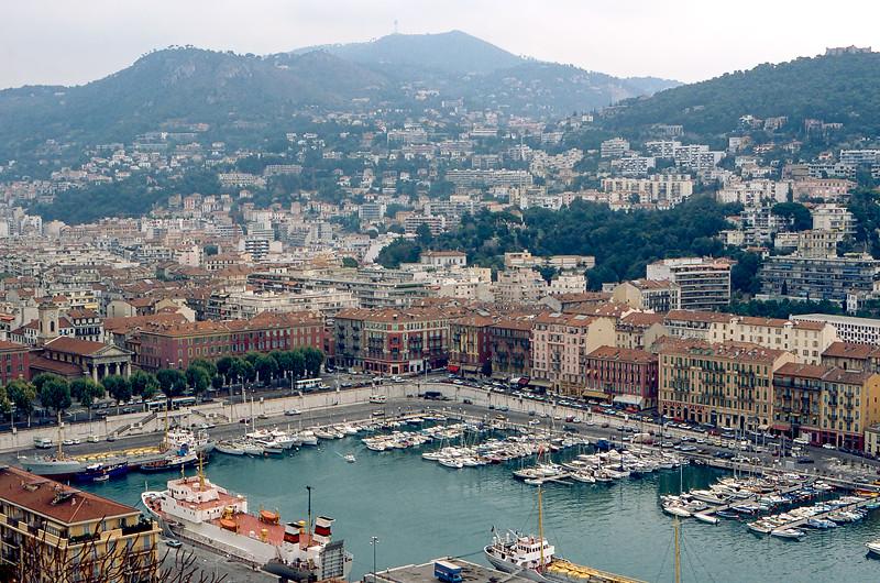 Monaco - Fontvieille Harbor - 1985