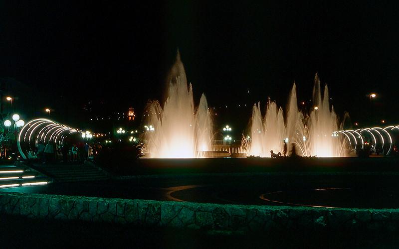 Nice - Fountains at Espace Massena