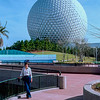Epcot 1984 - Mercedes by Spaceship Earth