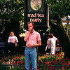 Disney World 1991 - Tea cups & Barry do not mix!