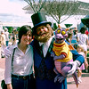 Epcot 1984 - Mercedes with Figment