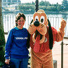 Disney World 1991 - Mercedes & Pluto