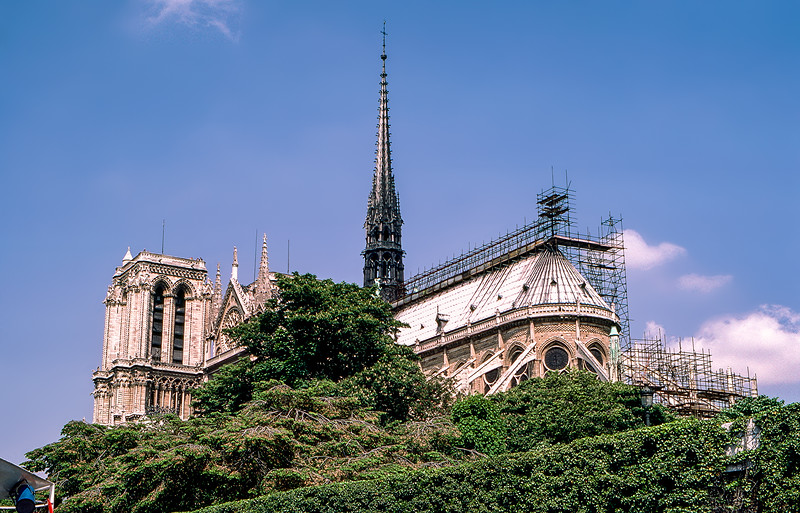 Notre-Dame as seen from the Seine