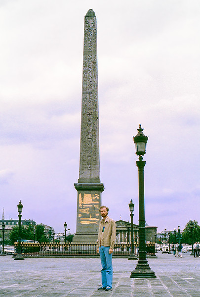 Luxor Obelisk (1290 BC) at the center of the Place de la Concorde
