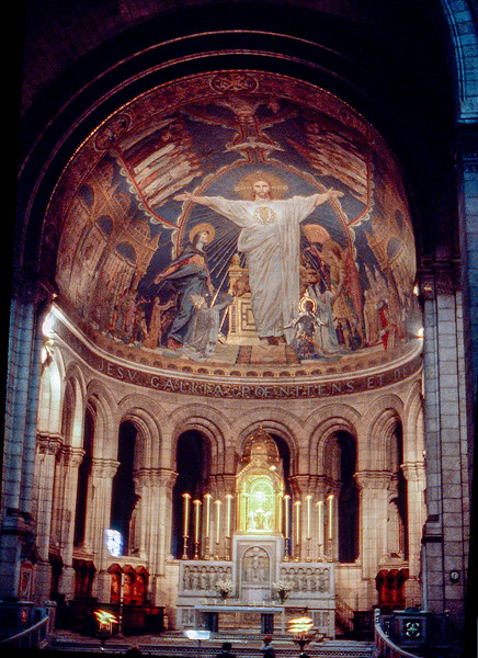 Paris - Altar of the Sacré-Cœur