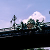 Paris - Pont Alexandre III bridge (1900) over the Seine