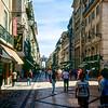 Rua Augusta - Lisbon's main pedestrian street