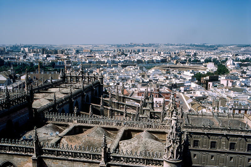 Seville panorama - 1987