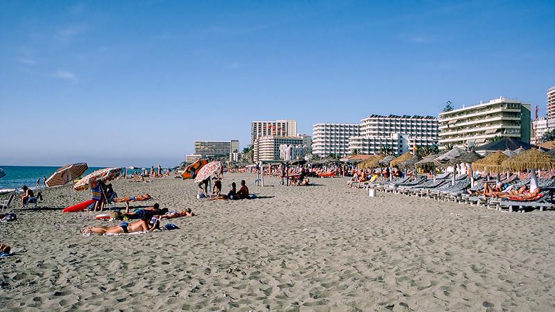 Torremolinos  beach - 1987