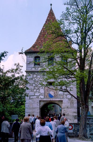 Rhine Falls entrance