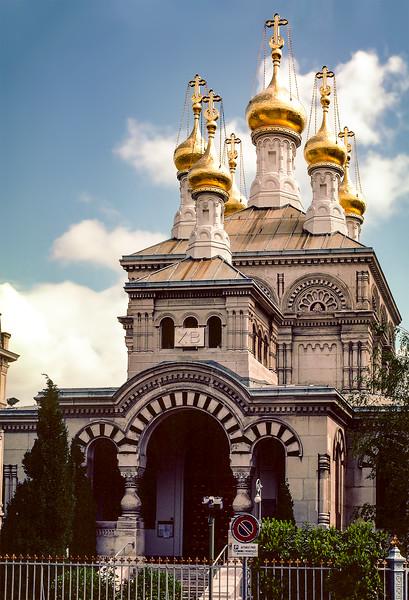 Geneva - Russian Orthodox Church (1866)