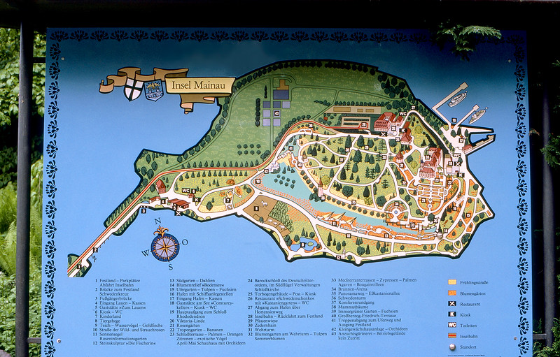 Insel Mainau - Island in Lake Constance, Germany