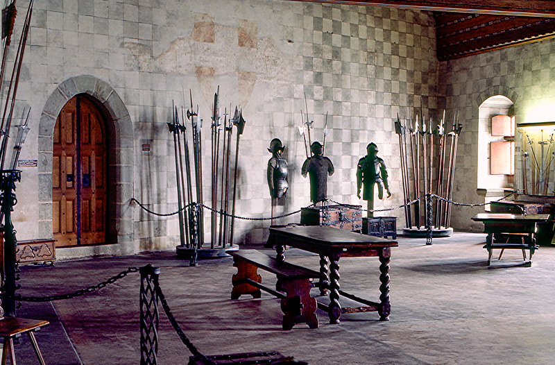 Interior of the Château