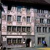 Schaffhausen - Hotel Restaurant Adler mural - Alois Carigiet (1956)