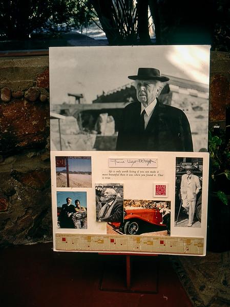 Frank Lloyd Wright's desert winter home & school