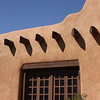 Traditional adobe house, Santa Fe, New Mexico