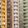 Apartment blocks, Casco Viejo, Panama City