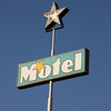 Motel sign, Sedona, USA