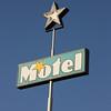 Motel sign, Sedona, USA