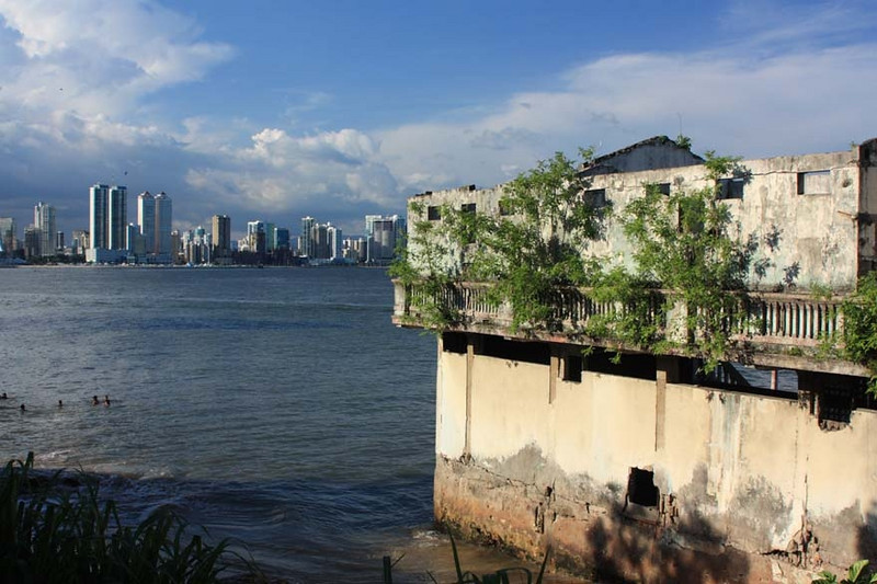 View of the city from Casco Viejo, Panama City