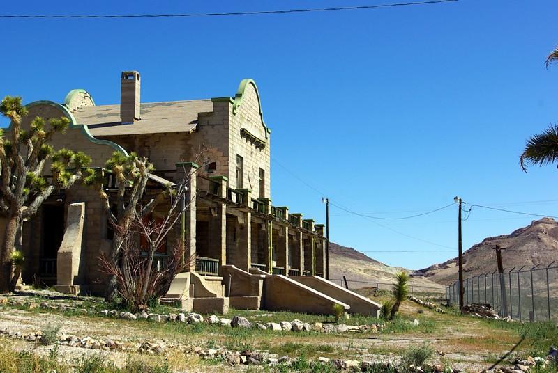 Train depot, Ryolite, Nevada