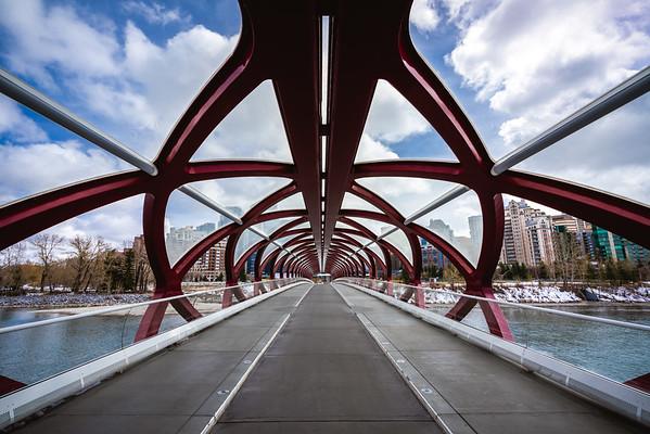 Peace Bridge | Calgary