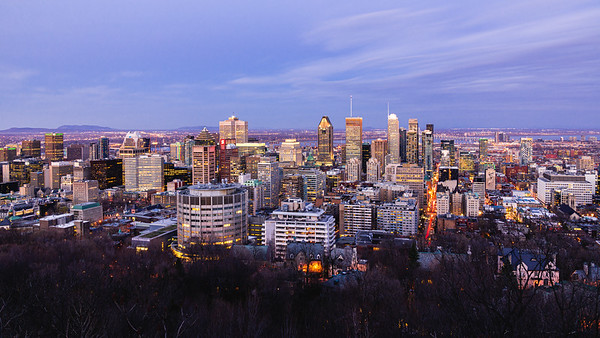 Montréal from Mont Royal