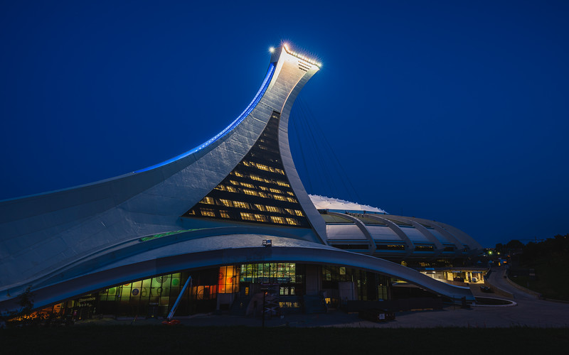 Montréal Tower & Olympic Stadium