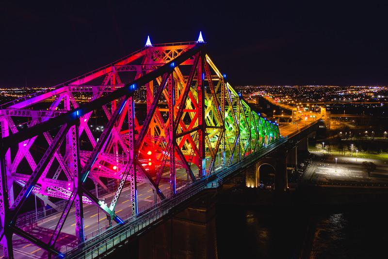 🇨🇦 Pont Jacques-Cartier | Montréal