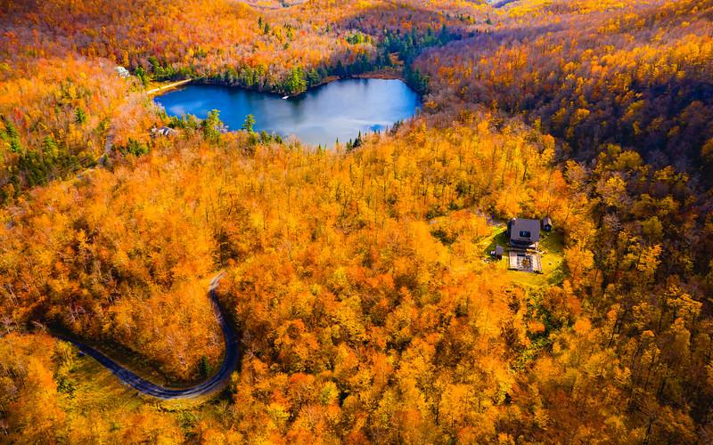 Fall in Québec