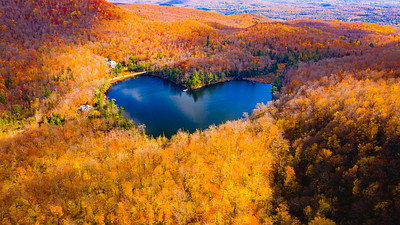 Heart Shaped Lake | Québec