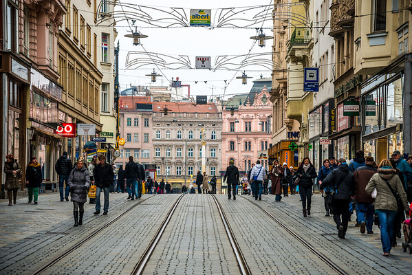 Masarykova street   Brno