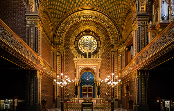 Španělská Synagoga   Praha
