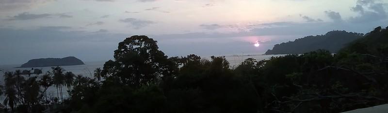 As the sun sinks over the horizon...