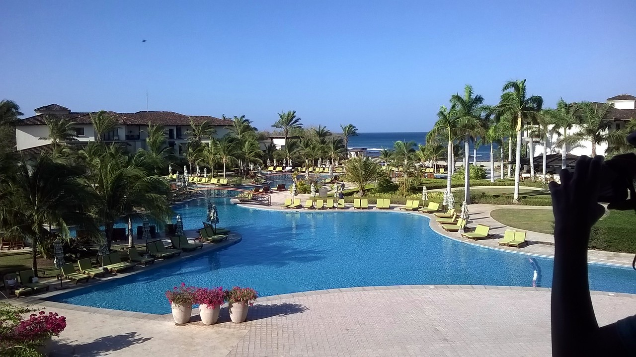 Its claim to fame is that it is the largest pool in Central America.