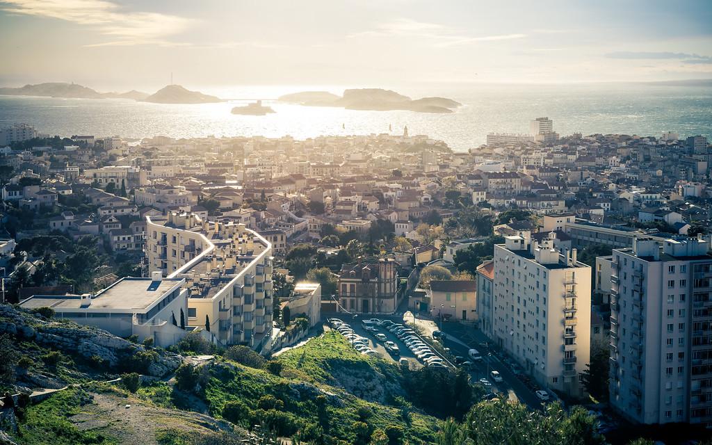 Marseille and Frioul archipelago