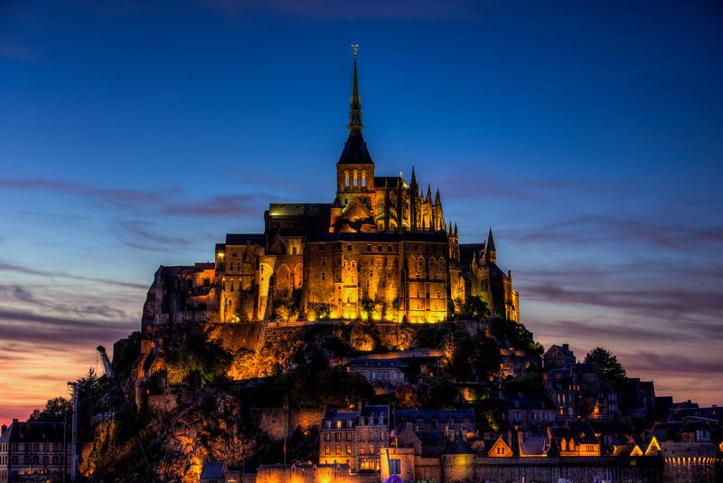 Mont St. Michel Sunset