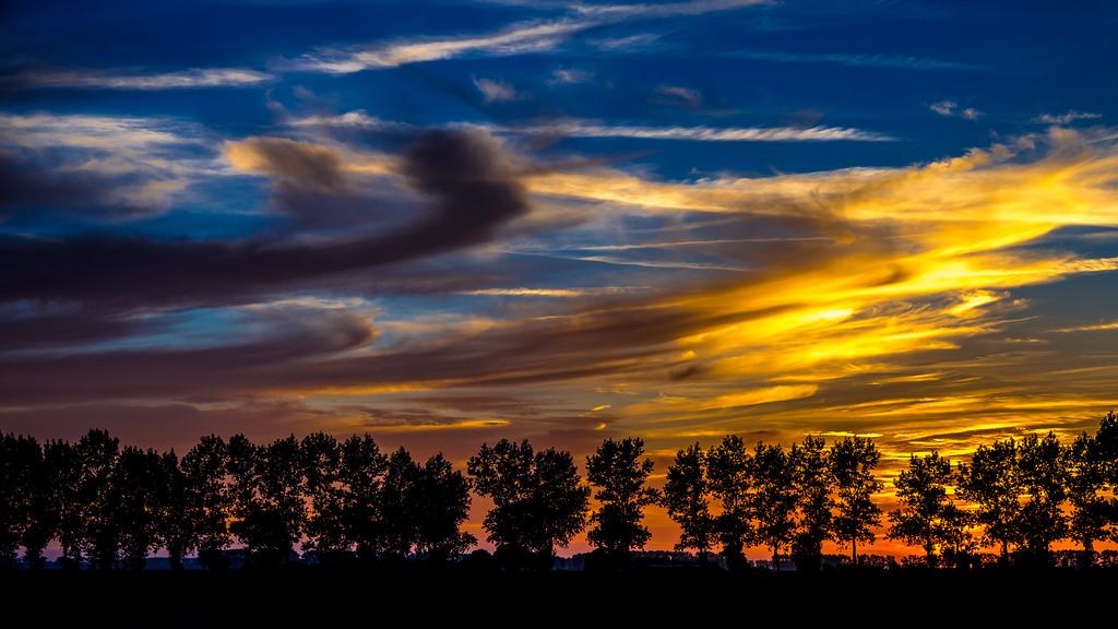 sunset normandy