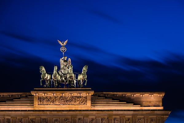 Brandenburg Gate Quadriga   Berlin